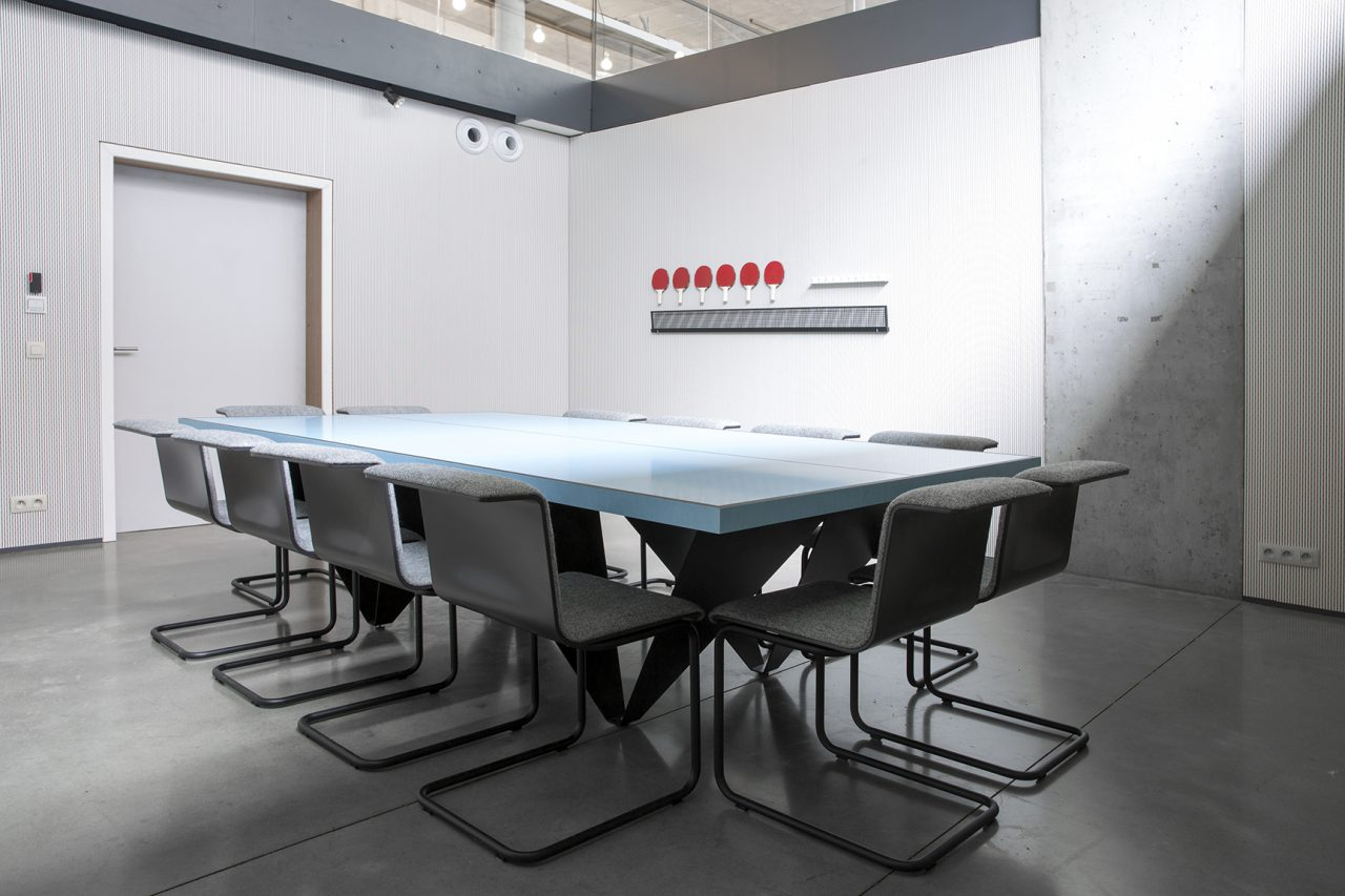 ACTION - Meeting room & ping pong table